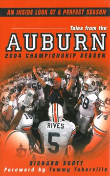 Tales From The Auburn 2004 Championship Season cover image