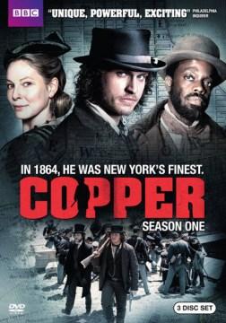 Copper. Season 1 cover image