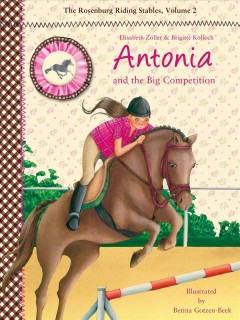 Antonia and the big competition cover image