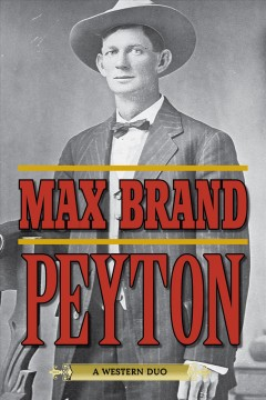 Peyton : a western duo cover image