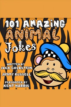 101 amazing animal jokes cover image
