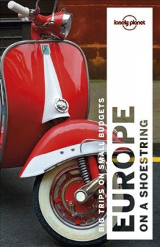 Lonely Planet. Europe on a shoestring cover image