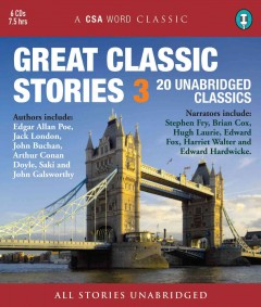 Great classic stories 3 20 unabridged classics cover image