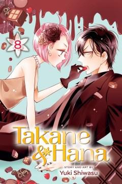 Takane & Hana. 8 cover image