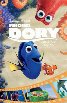 Finding Dory : cinestory comic cover image
