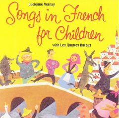 Songs in French for children cover image