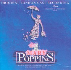 Mary Poppins original London cast recording cover image