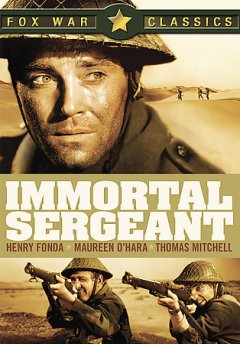 Immortal sergeant cover image