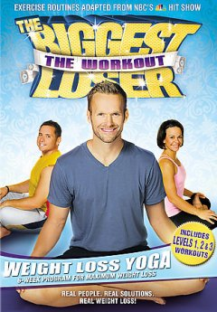 Biggest loser, the workout. Weight loss yoga cover image