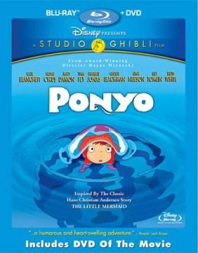 Ponyo [Blu-ray + DVD combo] cover image
