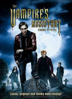 The vampire's assistant cover image