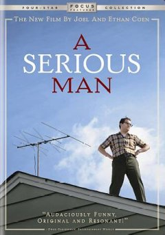 A serious man cover image