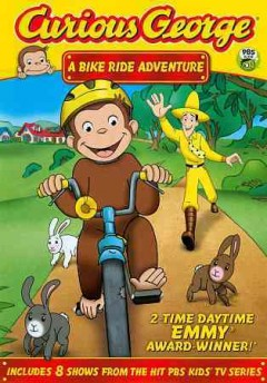 Curious George. A bike ride adventure cover image