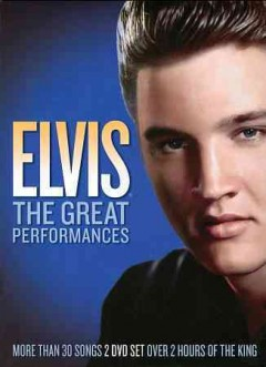 Elvis the great performances cover image
