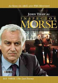 Inspector Morse . Season 3 the last enemy cover image