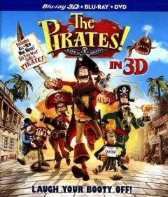 The pirates! [3D Blu-ray + Blu-ray + DVD combo] band of misfits in 3D cover image