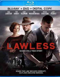 Lawless [Blu-ray + DVD combo] cover image