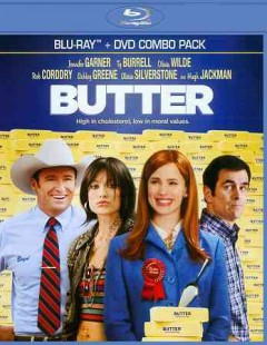Butter [Blu-ray + DVD combo] cover image