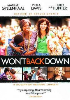 Won't back down cover image