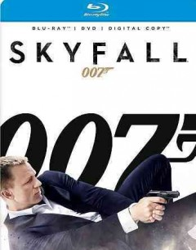 Skyfall [Blu-ray + DVD combo] cover image