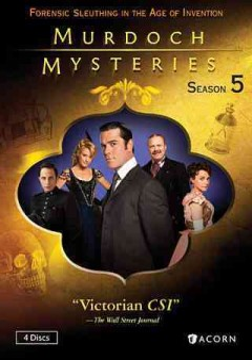 Murdoch mysteries. Season 5 cover image