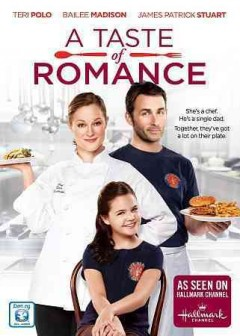 A taste of romance cover image