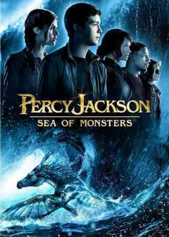 Percy Jackson. Sea of monsters cover image