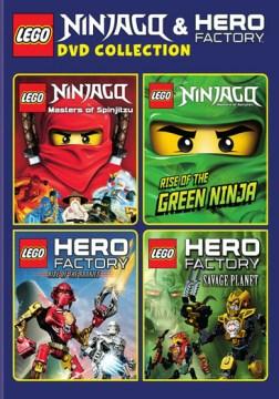 LEGO Ninjago & Hero factory DVD collection cover image