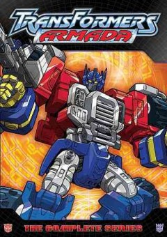 Transformers armada. the complete series cover image