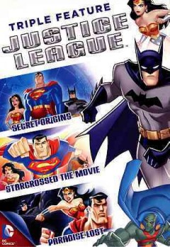 Justice League triple feature cover image