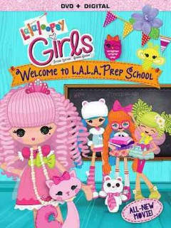 Lalaloopsy girls. Welcome to L.A.L.A. prep school cover image