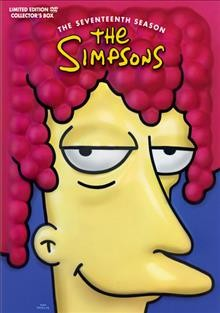 The Simpsons. Season 17 cover image