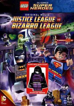 Lego DC Comics super heroes. Justice League vs. Bizarro League cover image