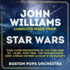 John Williams conducts music from Star Wars cover image