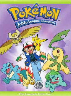 Pokémon, Johto league champions the complete collection cover image