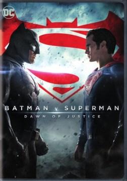 Batman v Superman dawn of justice cover image