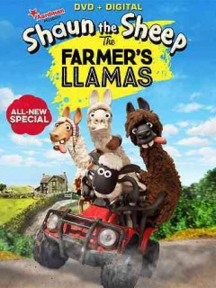 Shaun the sheep. The farmer's llamas cover image