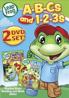 Leap frog. A-B-Cs and 1-2-3s. Word caper , Math circus cover image