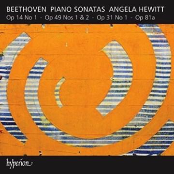 Piano sonatas op. 14, no. 1 ; op. 49, nos. 1 & 2 ; op. 31, no. 1 ; op. 81a cover image