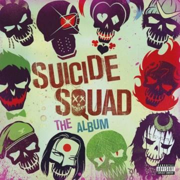 Suicide squad the album cover image