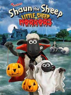 Shaun the sheep. Little sheep of horrors cover image