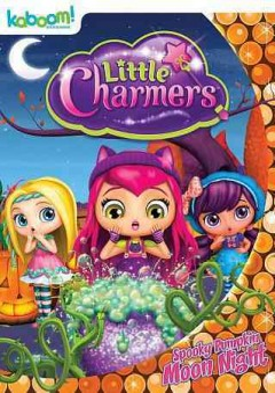 Little Charmers. Spooky pumpkin moon light cover image