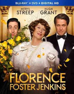 Florence Foster Jenkins [Blu-ray + DVD combo] cover image