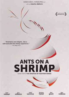 Ants on a shrimp Noma Tokyo, the creation of fourteen dishes cover image