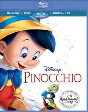 Pinocchio [Blu-ray + DVD combo] cover image