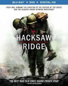 Hacksaw Ridge [Blu-ray + DVD combo] cover image