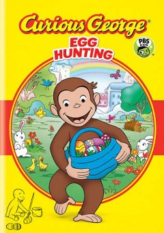 Curious George. Egg hunting cover image