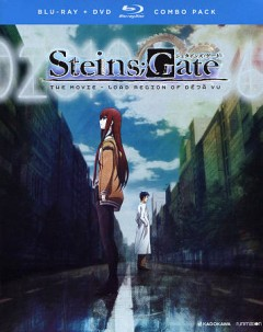 Steins;Gate [Blu-ray + DVD combo] the movie, Load region of déjà vu cover image
