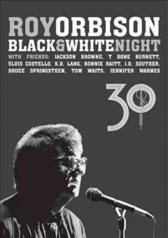 Roy Orbison black & white night 30 cover image