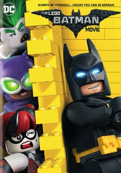 The Lego Batman movie cover image
